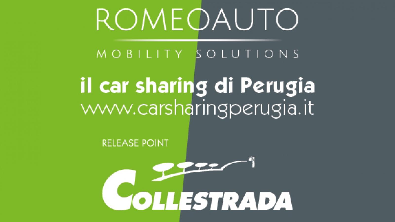 Collestrada nuovo release point per il car-sharing Perugia